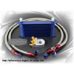 Engine Oil Cooler Kit - 7 rows, std oil filter 2 hoses