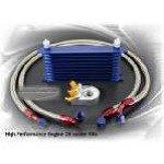 Engine Oil Cooler Kit - 7 rows, std oil filter 2 hoses