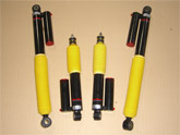 HOT BITS 4X4 DT1 Canister Shocks Toyota LC J100
